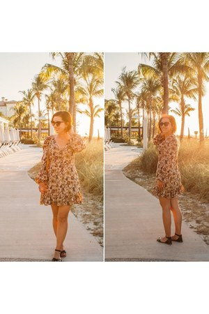 Lani the Label dress - Nordstrom sandals