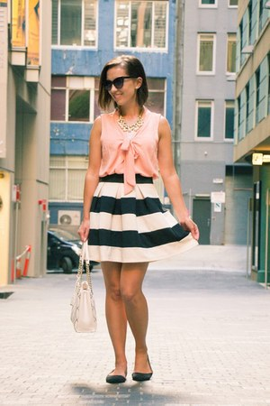 striped modcloth skirt
