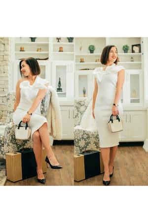 white Femme Luxe dress
