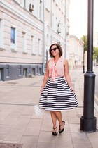 striped modcloth skirt