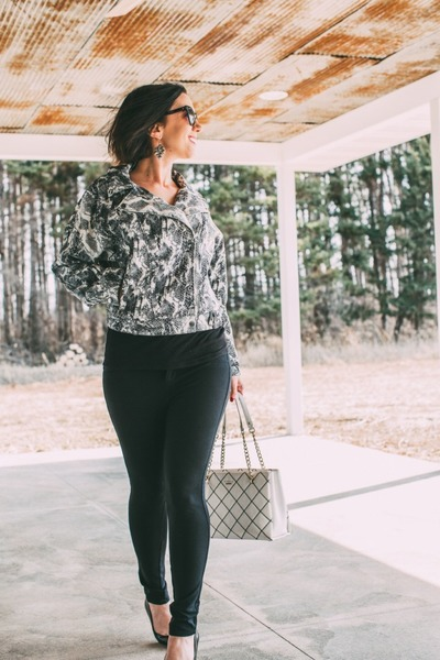 snakeskin Femme Luxe jacket