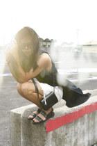 black Alexander Wang sandals