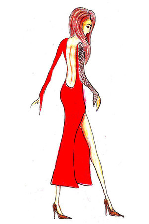 red long dress dress - red red dress - red red dress