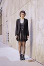 Black-theory-blazer-black-skirt-black-aldo-boots-black-leggings-white-fo