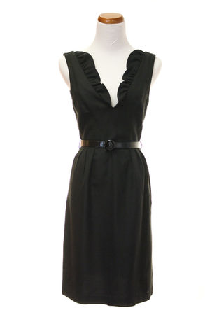 black tracy reese dress