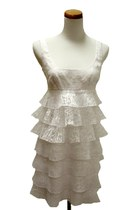 white Maggy London dress
