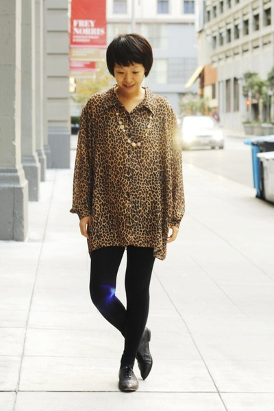 leopard print chictopia shop shirt
