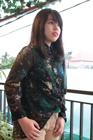 galaxy romwe blouse
