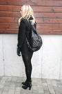 Black-zara-blazer-black-gina-tricot-shorts-black-din-sko-shoes-black-gina-