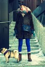 Brown-simple-and-chic-boots-dark-brown-faux-fur-zara-coat