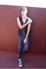 Zara-jeans-zara-vest-pull-bear-t-shirt-converse-sneakers