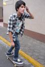 Zara-jeans-zara-shirt-pull-bear-t-shirt-vans-sneakers