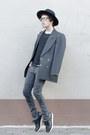 H-m-jeans-h-m-hat-asos-sweater-maison-martin-margiela-blazer