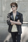 Pull-bear-jeans-pull-bear-jacket-ray-ban-sunglasses-lacoste-sneakers