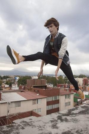 Lacoste sneakers - asos jeans - asos jacket - Zara t-shirt