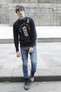 Asos-boots-zara-jeans-h-m-shirt-uniqlo-sweatshirt