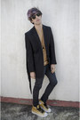 H-m-jeans-h-m-blazer-maison-martin-margiela-shirt-ray-ban-sunglasses