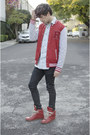 Asos-jeans-asos-jacket-dr-denim-shirt-maison-martin-margiela-sneakers