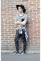 Wonderplace hat - Zara shirt - codes combine t-shirt - pull&bear pants