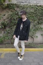 H&M jeans - asos jacket - asos t-shirt - Converse sneakers - H&M glasses