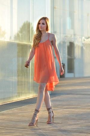Isabel Marant shoes - asos dress