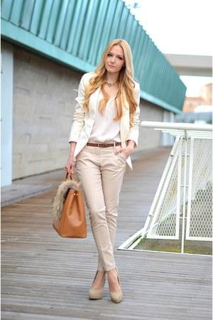 Mango blazer - Zara pants