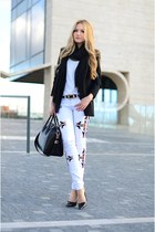 Givenchy bag - Zara blazer