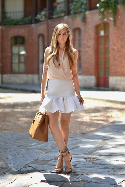 asos skirt - Isabel Marant sandals