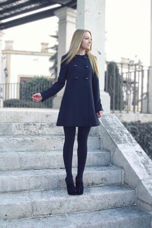 Zara coat - Zara heels