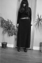Express belt - dress - Jeffrey Campbell shoes
