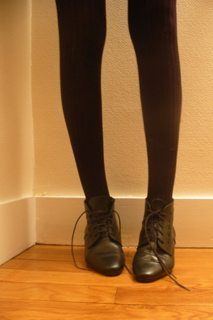 shoes - tights