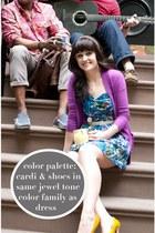 Loft cardigan - Target dress - DSW heels