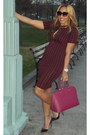 Maroon-dress