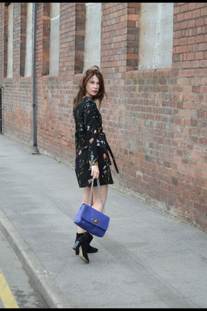 asos boots - Topshop dress - Mulberry bag