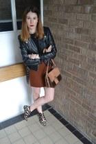 Office shoes - H&M jacket - vintage blouse