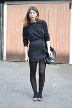 Topshop skirt - Office shoes - asos jumper