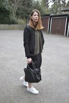 acne shoes - Zara jacket - Topshop jumper