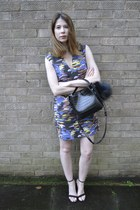 Zara bag - asos dress - Zara heels