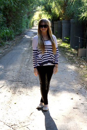 black f21 pants - fashionology