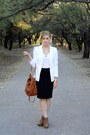 Camel-f21-purse-f21-white-express-blazer