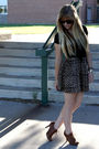 Brown-forever21-shoes-black-forever21-necklace