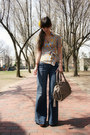 Blue-gap-jeans-yellow-anthropologie-accessories-camel-leopard-print-diane-vo