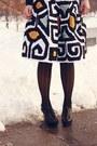 Black-urban-outfitters-sweater-mustard-target-scarf-white-diane-von-furstenb