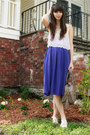 Tan-theit-bag-light-purple-anthropologie-top-violet-h-m-skirt-ivory-urban-