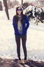 Heather-gray-anthropologie-hat-blue-modcloth-sweater-gray-snoozer-loser-scar