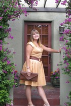 calvin klein dress - banana republic belt - DSW accessories - BOC shoes - Tommy