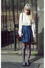 Beige-vintage-blouse-blue-primark-skirt-brown-vintage-purse-gold-primark-a