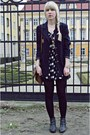 Black-quiz-shoes-black-westrags-dress-navy-thrifted-vintage-blazer-brown-p