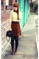 vintage skirt - Primark jumper