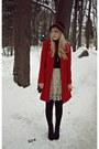 Red-primark-coat-off-white-modcloth-skirt-black-veechay-hat-black-fleqpl-b